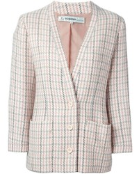 Jean Louis Scherrer Vintage Checked Jacket