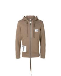 Helmut Lang Zipped Hoodie Sweater