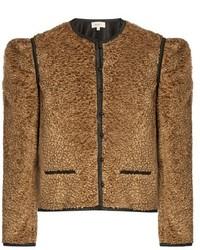 Isa Arfen Embossed Velvet Jacket
