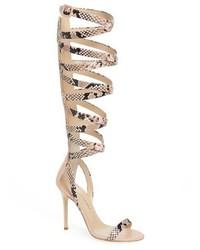 f336b2c6ed4 Giuseppe Zanotti Giuseppe For Jennifer Lopez Emme Knee High Gladiator Sandal