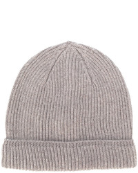 Canali Ribbed Knit Beanie