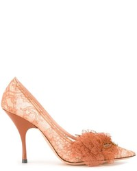 Rochas Lace Detail Pumps