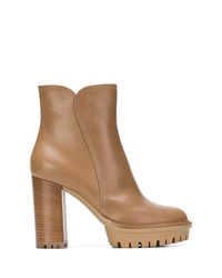 Gianvito Rossi Block Heel Ankle Boots