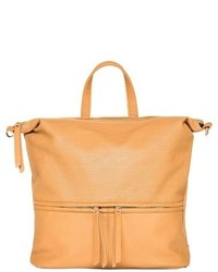 Urban Originals Willow Convertible Faux Leather Backpack Beige