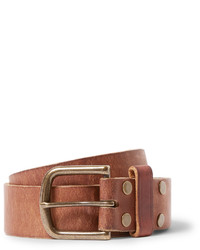4cm tan leather belt medium 443748