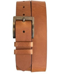 James Campbell Big Tall Leather Belt