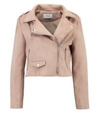 Jeremy faux leather jacket beige medium 3993183