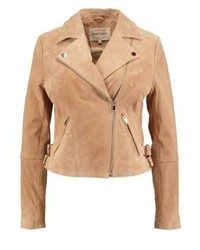 Leather jacket desert blush medium 3993118
