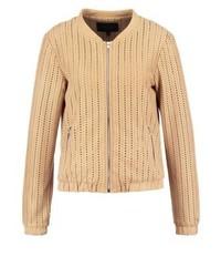 Audrey bomber jacket seasame medium 3948591