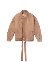 Fear Of God Belted Panelled Nubuck Jacket