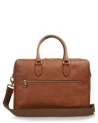 Heathcliffe grained leather briefcase medium 442941