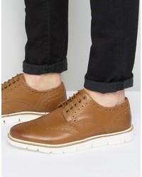 Brogues tan leather medium 3706508
