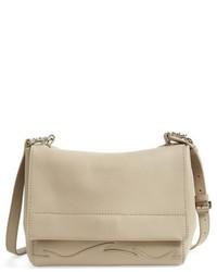 3.1 Phillip Lim Ames Patchwork Leather Crossbody Bag Beige
