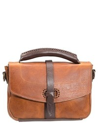 Will Leather Goods Athena Leather Crossbody Bag