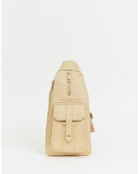 PrettyLittleThing Cross Body Bag In Sand