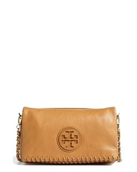 Tory Burch Marion Foldover Crossbody Bag Royal Tan