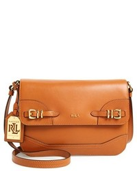 Lauren Ralph Lauren Medium Lauren Leather Crossbody Bag