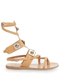 Ancient Greek Sandals X Peter Pilotto Gladiator Leather Sandals