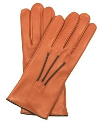 Bi colour leather gloves medium 403138