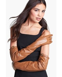 MICHAEL Michael Kors Michl Michl Kors Long Leather Gloves