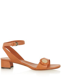 Tod's Embellished Leather Sandals