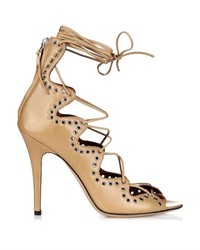 Isabel Marant Lelie Lace Up Leather Sandals