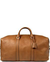 Clipper leather holdall medium 59581