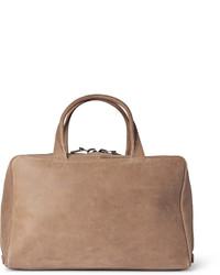 Lvaro brushed leather holdall medium 400586