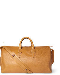 Parabellum full grain bison leather holdall bag medium 59580