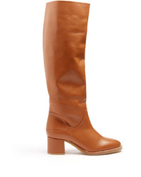 Gabriela hearst forti leather knee high boots medium 1316374