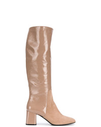 Casadei Smooth Varnished Boots