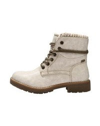 Lace up boots offwhite medium 6469153