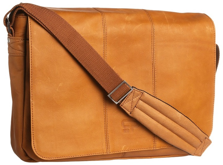 Culture Phit Leather Flapover Computer Messenger Bag | Where to ...