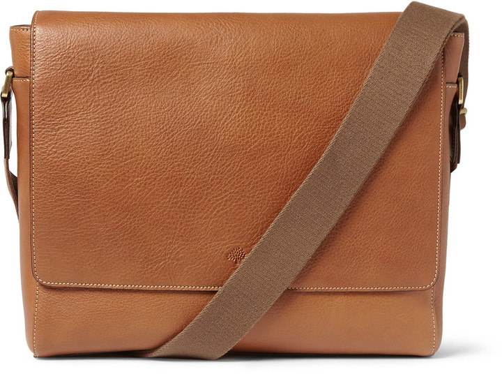 662eafb2208c £953, Mulberry Maxwell Leather Messenger Bag