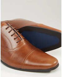 Chaussures Embout De Tracasseries Administratives En Oxford Cuir Beige - Tan pYK9eegbI