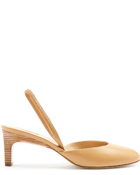 Paul Andrew Celestine Slingback Leather Pumps