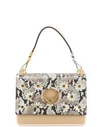 Fendi Daisy Print Kan I Shoulder Bag