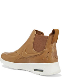 Tan Air Max Thea leather slip on
