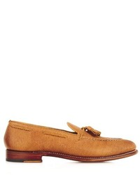 Scott grained leather loafers medium 266996