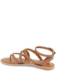 c4d19873cc71a ... Topshop Hercules Strappy Leather Thong Sandal ...