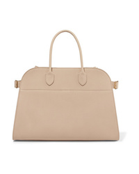 The Row Margaux Textured Leather Tote