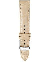 Michele 16mm Alligator Leather Watch Strap