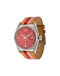 La Californienne Fraise Peony Rolex Oyster Perpetual Datejust Stainless Watch 36mm Unavailable