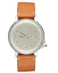 M12 leather strap watch 39mm medium 765312