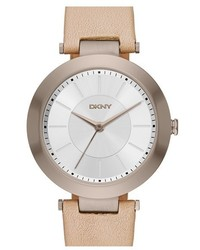 DKNY Stanhope Leather Strap Watch 36mm