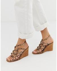 ASOS DESIGN Zoe Wedge Sandals