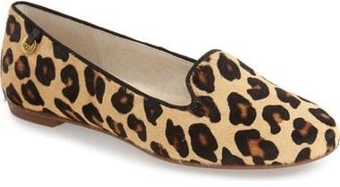 4ef5289e858 £99, UGG Blyss Leopard Spot Calf Hair Flat