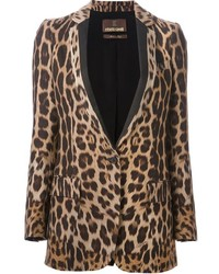 Leopard print blazer medium 133298