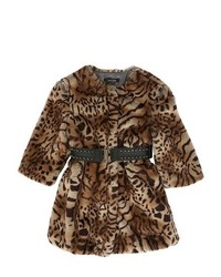 Tan Leopard Coat