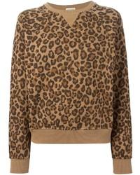 Leopard print sweatshirt medium 209124